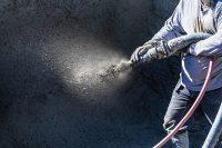 sprayed concrete restoration treatment